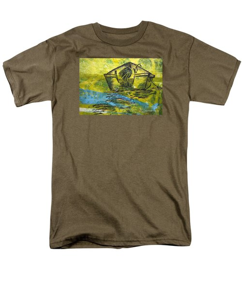 Solitaire Men's T-Shirt  (Regular Fit) by Cynthia Lagoudakis