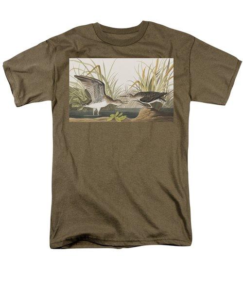 Solitary Sandpiper Men's T-Shirt  (Regular Fit) by John James Audubon