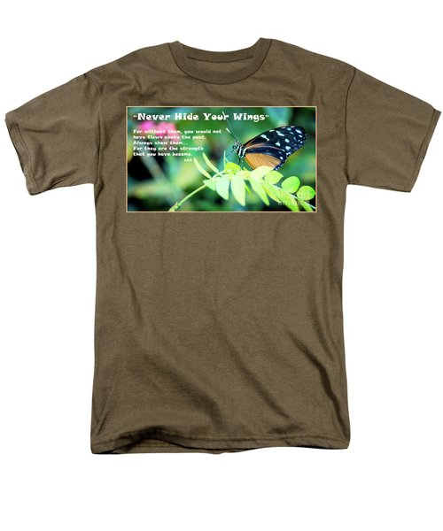 Men's T-Shirt  (Regular Fit) featuring the photograph Solitude Moments by Deborah Klubertanz