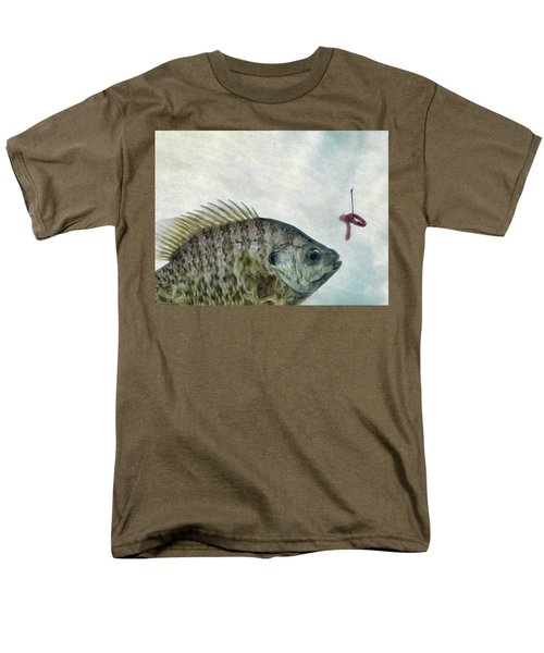 Men's T-Shirt  (Regular Fit) featuring the photograph Something Fishy by Mark Fuller