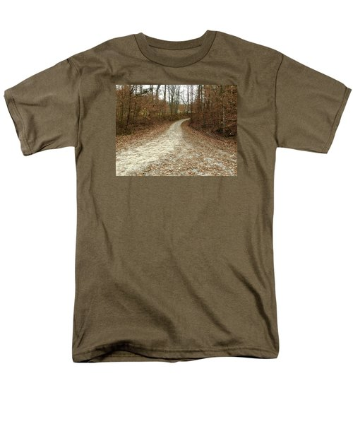 Somewhere Down The Road Men's T-Shirt  (Regular Fit) by Russell Keating