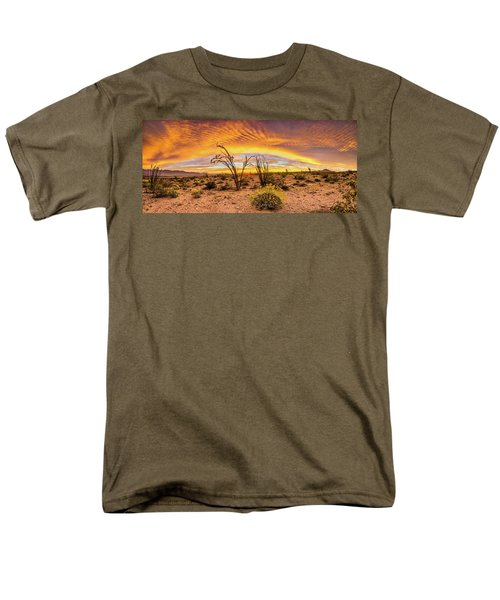 Men's T-Shirt  (Regular Fit) featuring the photograph Somewhere Over by Peter Tellone