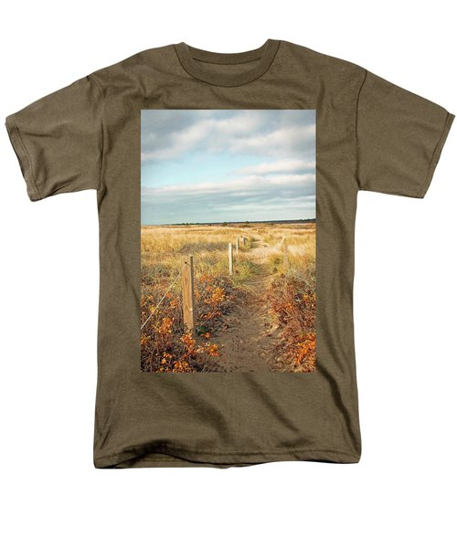 South Cape Beach Trail Men's T-Shirt  (Regular Fit) by Brooke T Ryan