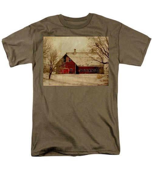 South Dakota Barn Men's T-Shirt  (Regular Fit)