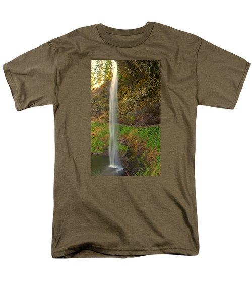 South Falls 0448 Men's T-Shirt  (Regular Fit) by Tom Kelly