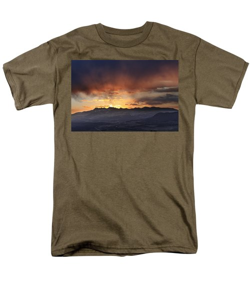Southwest Colorado Sunset Men's T-Shirt  (Regular Fit) by John Zeising