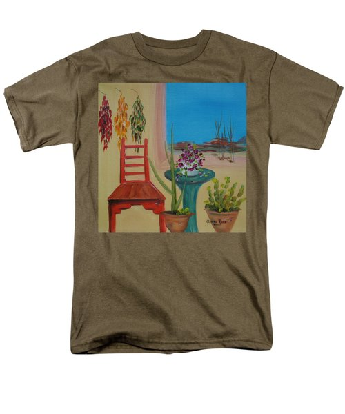 Men's T-Shirt  (Regular Fit) featuring the painting Southwestern 6 by Judith Rhue