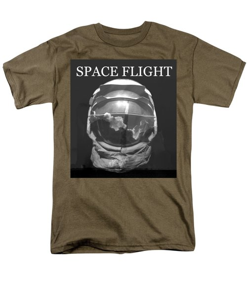 Men's T-Shirt  (Regular Fit) featuring the photograph Space Flight by David Lee Thompson