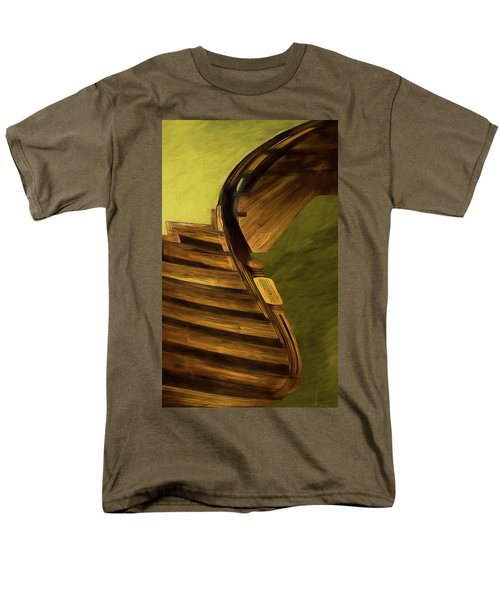 Space Geometry #12 Men's T-Shirt  (Regular Fit) by Alex Galkin