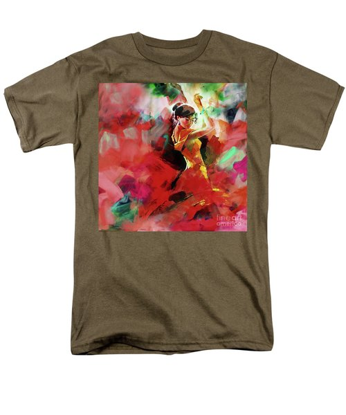 Men's T-Shirt  (Regular Fit) featuring the painting Spanish Dance by Gull G