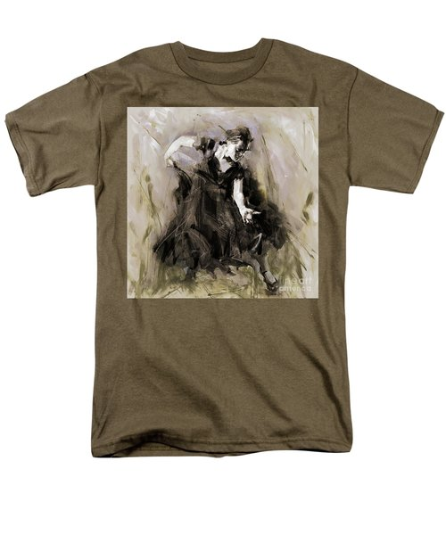 Men's T-Shirt  (Regular Fit) featuring the painting Spanish Dancer 3400i by Gull G