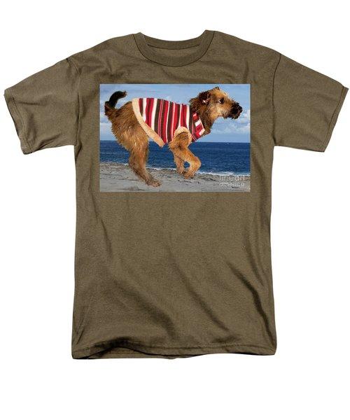 Men's T-Shirt  (Regular Fit) featuring the photograph Sparky by Al Bourassa