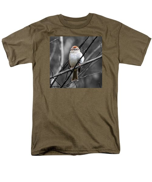 Sparrow Men's T-Shirt  (Regular Fit) by Paul Wilford