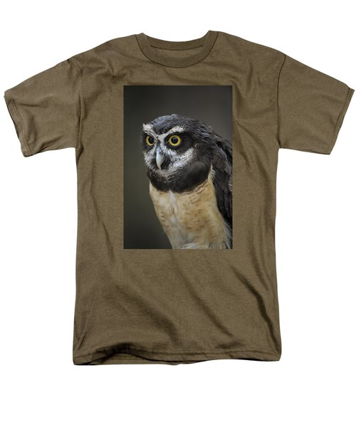 Men's T-Shirt  (Regular Fit) featuring the photograph Spectacled Owl by Tyson and Kathy Smith