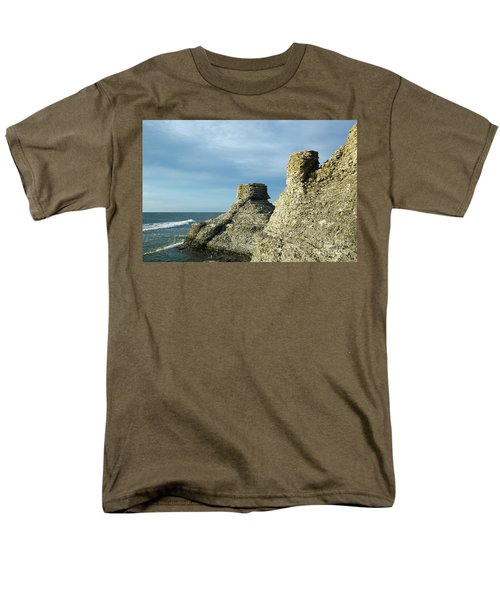 Spectacular Eroded Cliffs  Men's T-Shirt  (Regular Fit) by Kennerth and Birgitta Kullman
