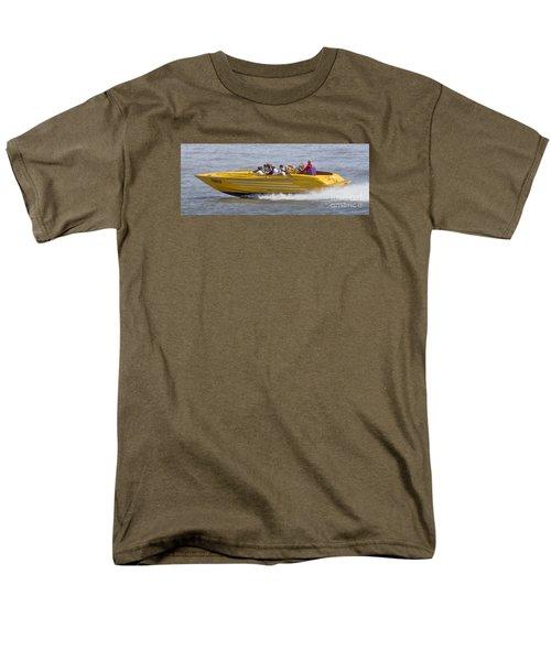 Speedboat Ride Men's T-Shirt  (Regular Fit) by David  Hollingworth