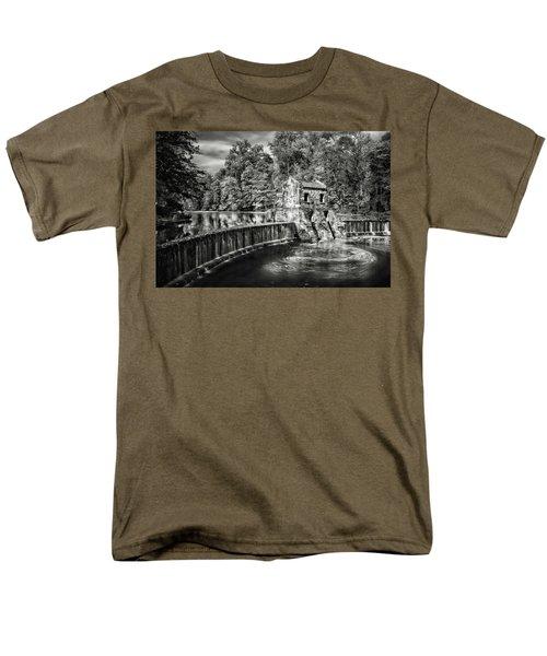 Men's T-Shirt  (Regular Fit) featuring the photograph Speedwell Swirls by Eduard Moldoveanu