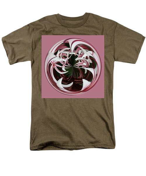 Men's T-Shirt  (Regular Fit) featuring the photograph Spider Lily Orb by Bill Barber