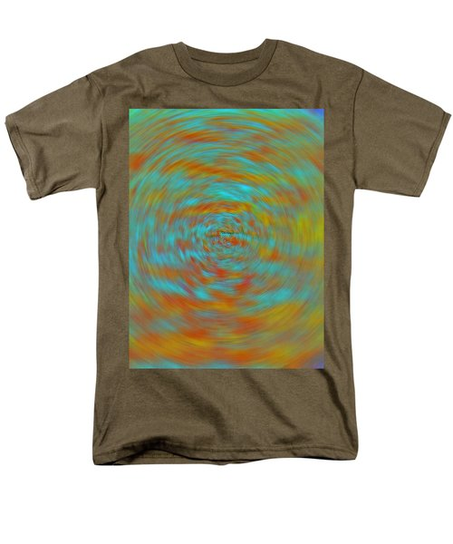Men's T-Shirt  (Regular Fit) featuring the photograph Spinning Out Of Control by Lenore Senior