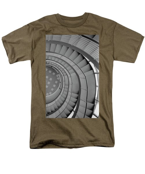 Spiraling Down  Men's T-Shirt  (Regular Fit) by Tara Lynn
