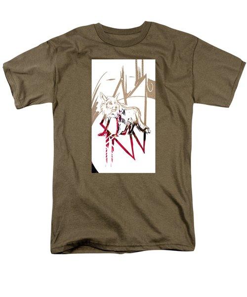 Spirit Animal . Fox Men's T-Shirt  (Regular Fit) by John Jr Gholson