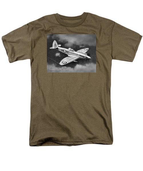 Spitfire Mark 22 Men's T-Shirt  (Regular Fit) by Douglas Castleman