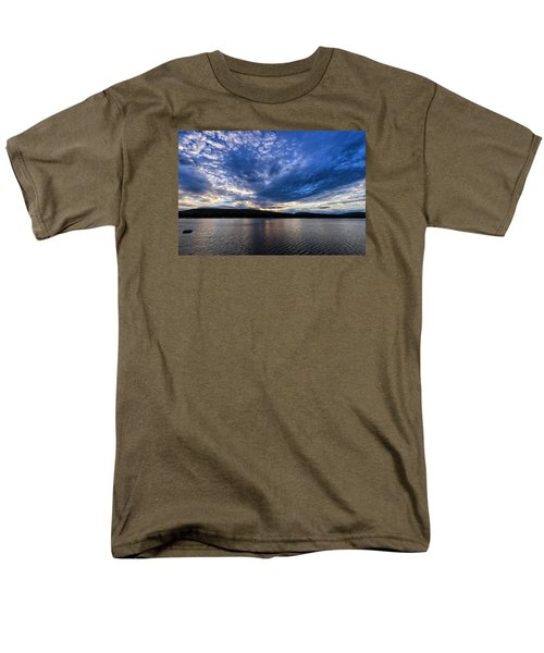 Men's T-Shirt  (Regular Fit) featuring the photograph Spofford Lake Sunrise by Tom Singleton