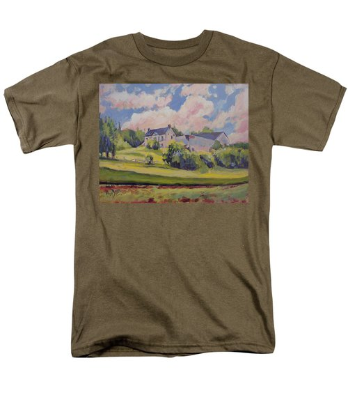 Spring At The Hoeve Zonneberg Maastricht Men's T-Shirt  (Regular Fit) by Nop Briex