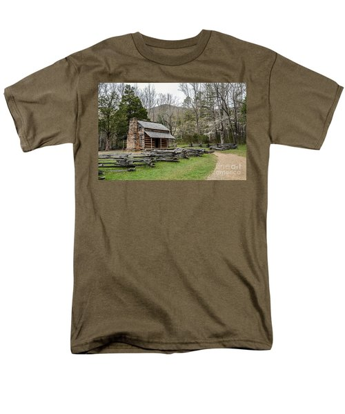 Spring For The Settlers Men's T-Shirt  (Regular Fit) by Debbie Green