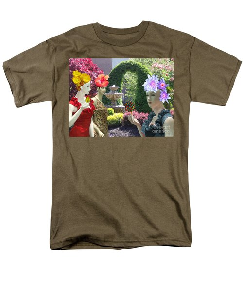 Spring In Bloom Men's T-Shirt  (Regular Fit) by Lyric Lucas