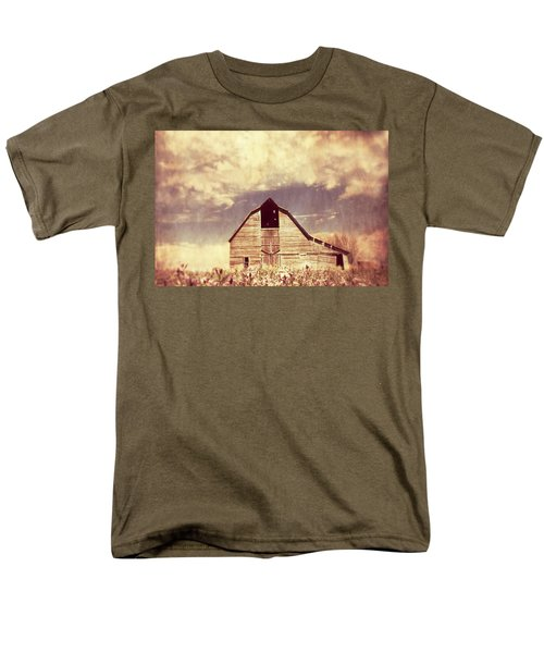Spring In Kansas  Men's T-Shirt  (Regular Fit) by Julie Hamilton
