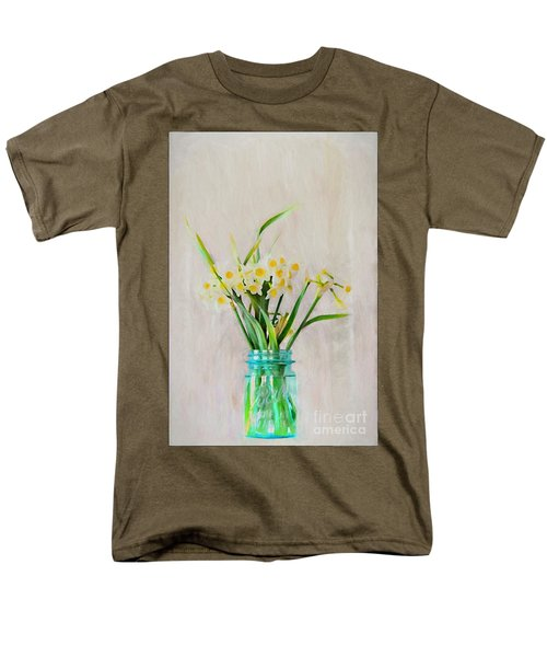 Men's T-Shirt  (Regular Fit) featuring the photograph Spring In The Country by Benanne Stiens
