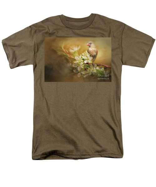 Spring Is In The Air Men's T-Shirt  (Regular Fit) by Linda Blair