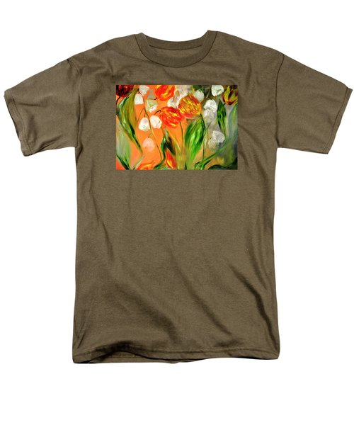Men's T-Shirt  (Regular Fit) featuring the painting Spring Mood by Evelina Popilian