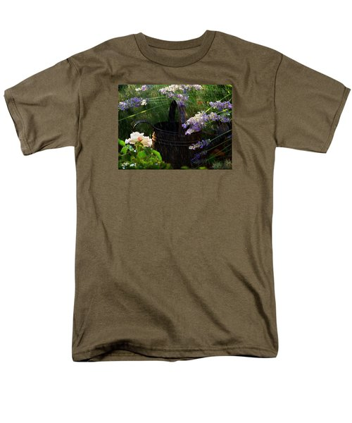 Spring Rain Men's T-Shirt  (Regular Fit) by Marika Evanson