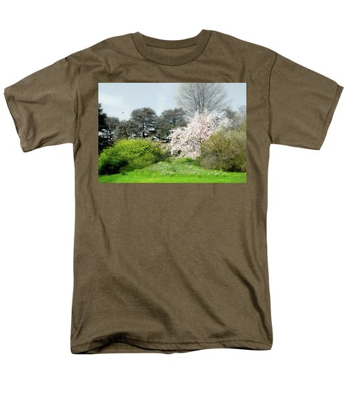 Men's T-Shirt  (Regular Fit) featuring the photograph Spring Treasures by Diana Angstadt