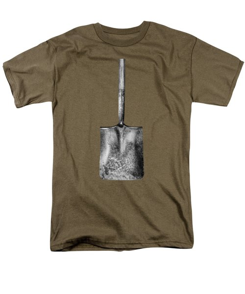 Square Point Shovel Down 3 Men's T-Shirt  (Regular Fit) by YoPedro