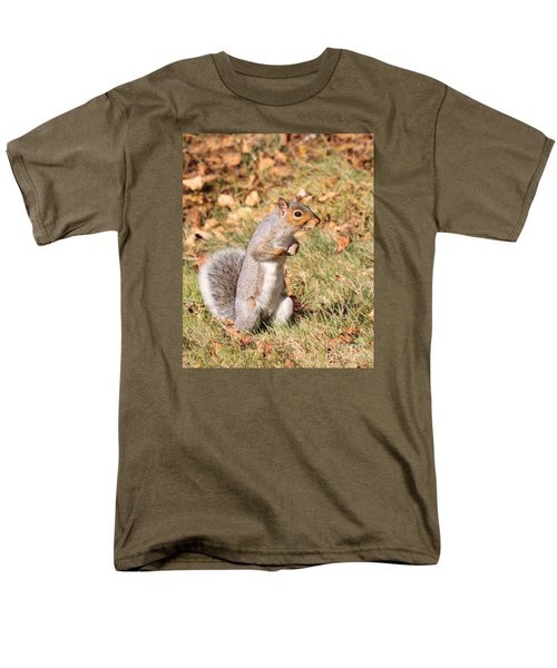 Squirrely Me Men's T-Shirt  (Regular Fit) by Debbie Stahre