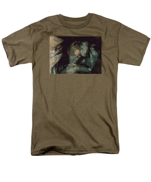 Men's T-Shirt  (Regular Fit) featuring the painting SRV by Paul Lovering