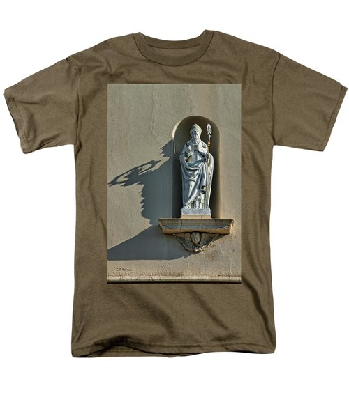 St. Augustine Of Hippo Men's T-Shirt  (Regular Fit) by Christopher Holmes