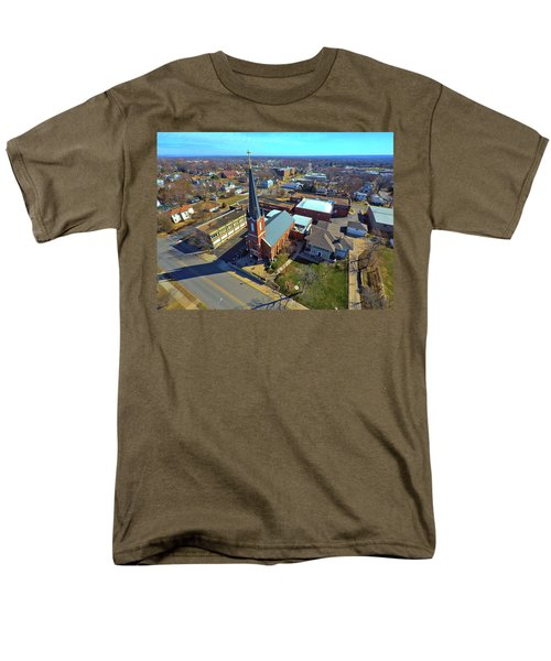 St. Marys Men's T-Shirt  (Regular Fit) by Dave Luebbert