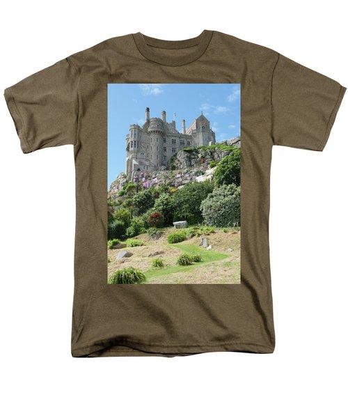 St Michael's Mount Castle II Men's T-Shirt  (Regular Fit) by Helen Northcott