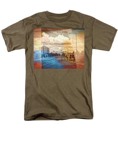 Men's T-Shirt  (Regular Fit) featuring the photograph St. Paul Capital Building by Susan Stone