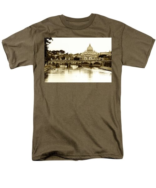 Men's T-Shirt  (Regular Fit) featuring the photograph St. Peters Basilica by Mircea Costina Photography