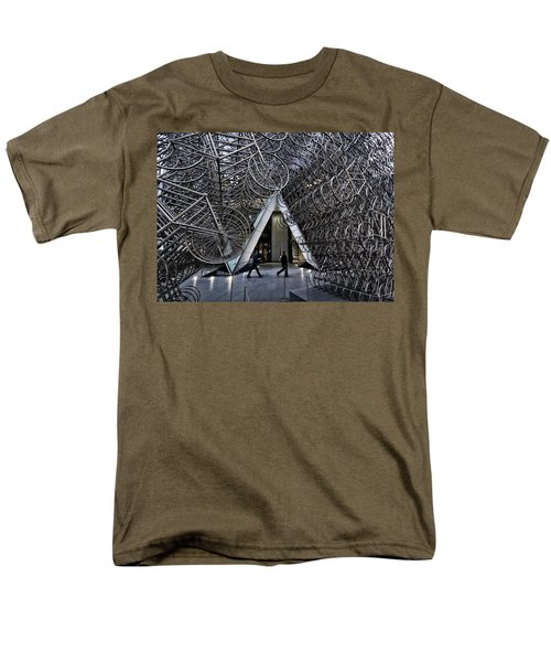 Stacked Bicycles  Men's T-Shirt  (Regular Fit) by Shirley Mitchell
