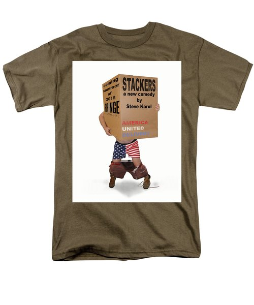 Stackers Poster Men's T-Shirt  (Regular Fit) by Steve Karol