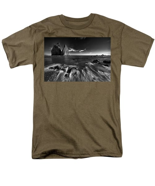 Stacks In Olympic Men's T-Shirt  (Regular Fit)