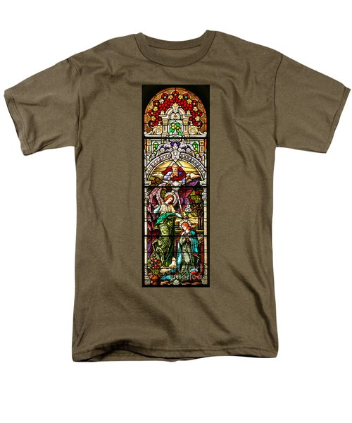 Men's T-Shirt  (Regular Fit) featuring the photograph Stained Glass Scene 5 by Adam Jewell