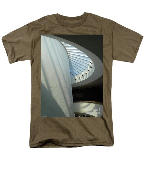 Stairway Abstract Men's T-Shirt  (Regular Fit) by Lyric Lucas