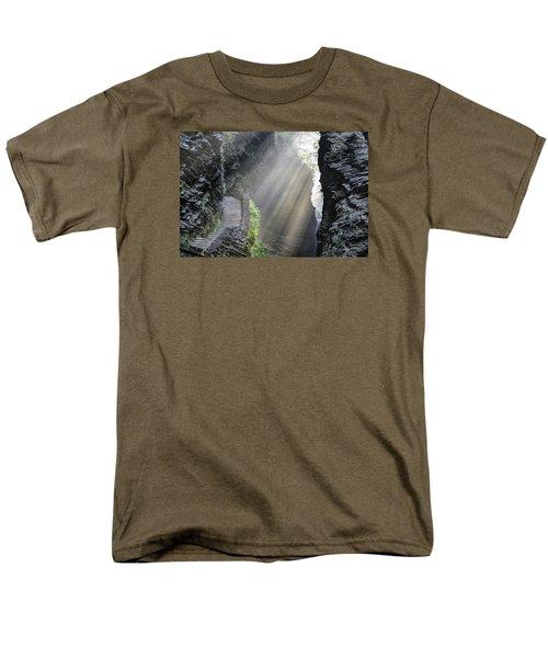 Stairway Into The Light Men's T-Shirt  (Regular Fit)